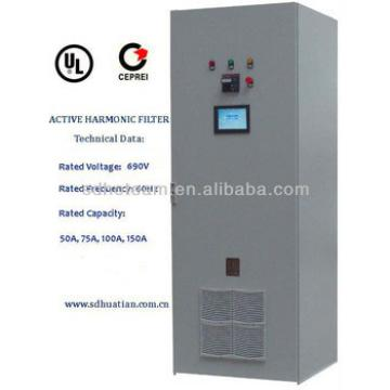 400V active harmonic filter 30A~800A-improve power quality