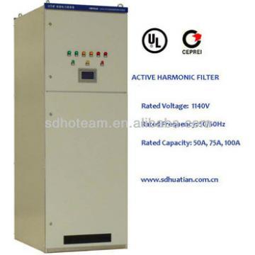 HTHF hybrid active harmonic filter