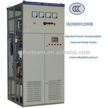 capacitors banks for load compensation in power system