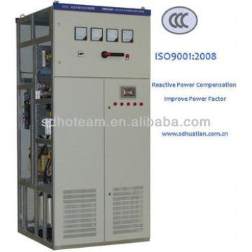 400V 50Hz 150kvar-2400kvar SCR high-speed low voltage automatice power factor correction equipment