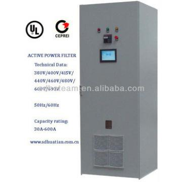 400V 30A-800A active harmonic filter with IP45 metal cabinet