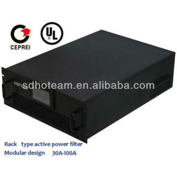 400V 50Hz 50A rack type active power filter